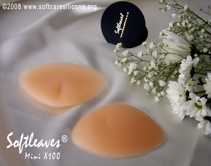 Softleaves Mini X100 Silicone Breast Enhancers