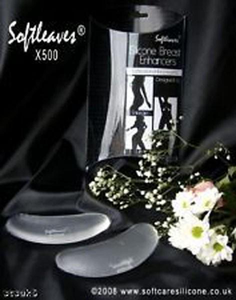 Softleaves X500 Silicone Breast Enhancers